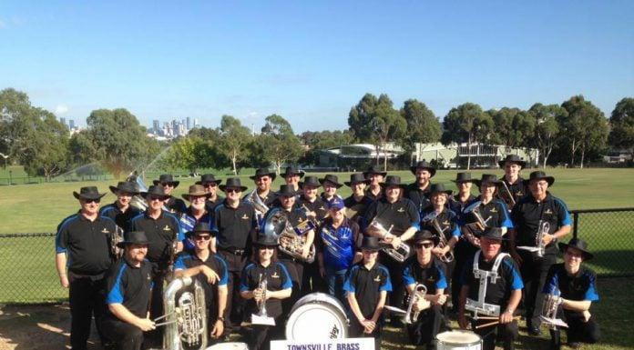 Townsville Brass at the 2018 Australian Nationals